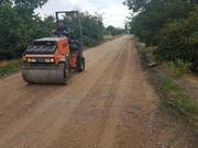 Каток грунтовочный дорожный услуги - foto 1