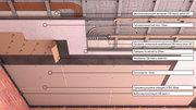 Звукоизоляционные материалы Dinbarrier применение для потолков.